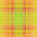 Andee Photography - Plaid In Yellow 1 Square