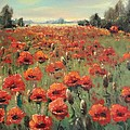 Mark Kremer - Poppies Field. Summer