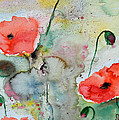 Ismeta Gruenwald - Poppies - Flower Painting
