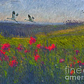 Lianne Schneider - Poppies of Tuscany