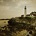 Joan Carroll - Portland Head Light II