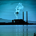 Craig Brown - Power Station silhouette