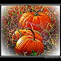 Michelle Frizzell-Thompson - Pumpkin Patch with border
