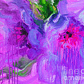 Svetlana Novikova - Purple Abstract peonies...