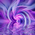 Aimelle - Purple Fractal Sunset