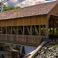 New England Photography - Quechee Covered Bridge.