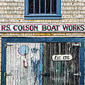Marty Saccone - R S Colson Boat Works