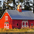 Al Powell Photography USA - Radiant Red Barn