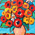 Ana Maria Edulescu - Red And Yellow Poppies...