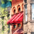 Susan Savad - Red Awnings on...