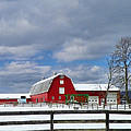 Pamela Phelps - Red Barn-First Day of...