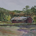 Janet Felts - Red Barn