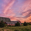 Mark Papke - Red Barn Sunset