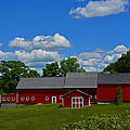 Mike Martin - Red barn White clouds...