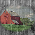 Timothy Clinch - Red Barn Windmill