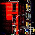 Miriam Danar - Red Building with Yellow...