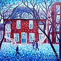 Cristina Stefan - Red House in Montreal -...