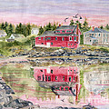 Melly Terpening - Red House Reflection