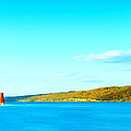 Paul Ge - Red Lighthouse In Cayuga...