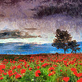 Georgi Dimitrov - Red poppies before the...