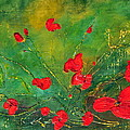 Teresa Wegrzyn - Red Poppies
