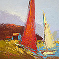 Dorothy Fagan - Red Sails