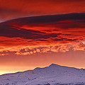 Guido Montanes Castillo - Red sunset over National...