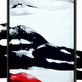 M and L Creations - REd White and Black Lips...