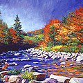 David Lloyd Glover - River of Autumn Colors