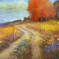R christopher Vest - Road By The Lake With...