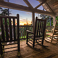 Debra and Dave Vanderlaan - Rocking Chairs on the...