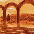 Nigel Fletcher-Jones - Roman Arches at Fiesole