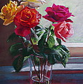 Lynda Robinson - Roses by the Window