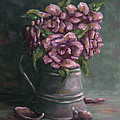 Andreja Dujnic  - Roses colored lilac