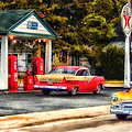 Thomas Woolworth - Route 66 Historic Texaco...