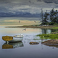 Randall Nyhof - Row Boat by Mount Desert...