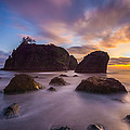 About Light  Images - Ruby Beach Sunset