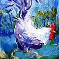 Trudi Doyle - Running Cockerel