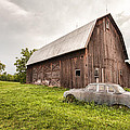 Gary Heller - Rustic Art - Old Car and...