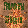 Larry Bishop - Rusty Sign