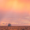 Photographic Arts And Design Studio - Sailboat at Sunset with...