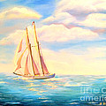Shelia Kempf - Sailing Away