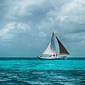Kristina Deane - Sailing in Belize