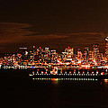 A P - Seattle Skyline With...