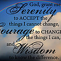 Todd and candice Dailey - Serenity Prayer