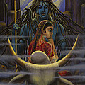 Vrindavan Das - Shiva Parvati. Night in...