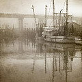 Renee Sullivan - Shrimp Boats in the Fog