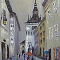 Maria Karalyos - Sighisoara-tower clock
