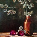 Anne Barberi - Silver Dollar Still Life