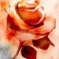 Annie Zeno - Single Rose Painting